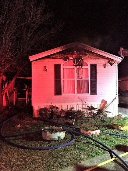 N. TN Blvd. Mobile Home Fire Early Wednesday
