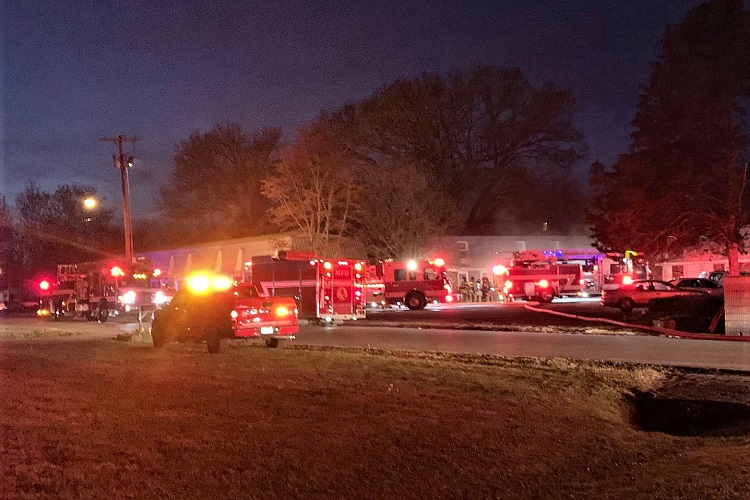 MFRD Has 2 Apartment Fires A Half-Hour Apart