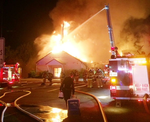 UPDATE: La Vergne Church Fire