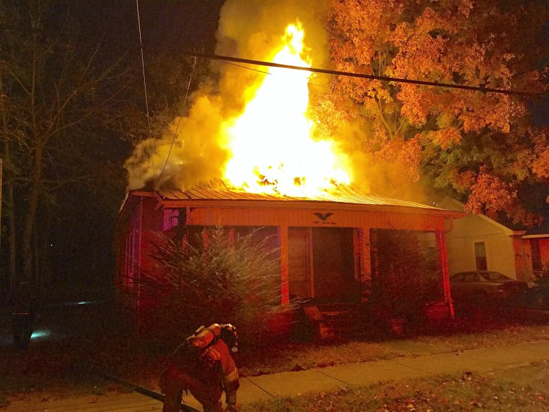 UPDATE: Early Sunday Morning Blaze On N. Church St. Appears Suspicious