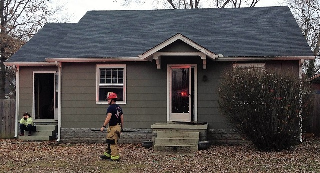Saturday Blaze at 307 Chamberlain Dr. Home