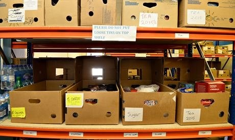 Fed $120K Grant Helps Emergency Food Supply