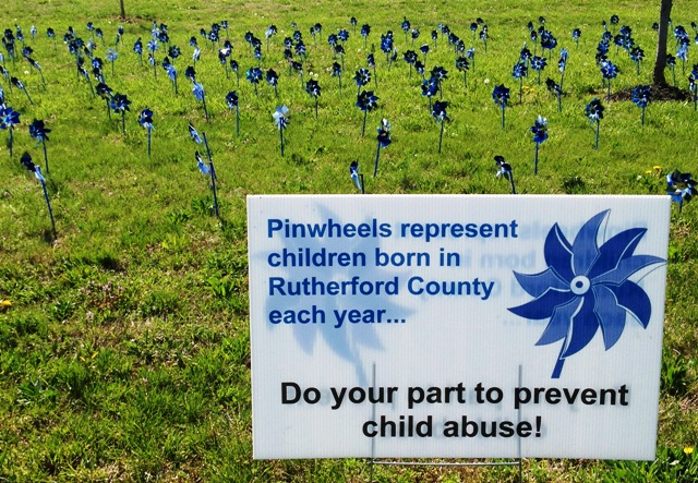The Rutherford County Coalition Against Child Abuse is having a Child Abuse Prevention Event