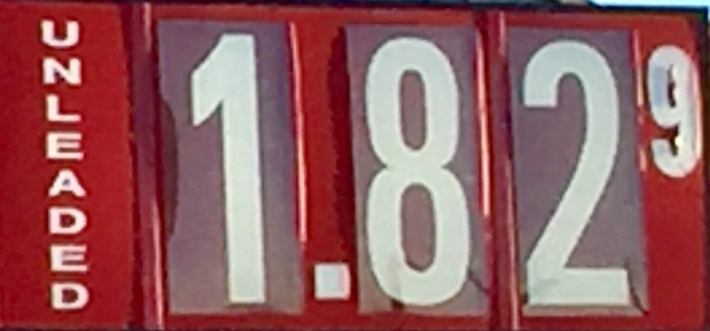 Gas Prices Leveling