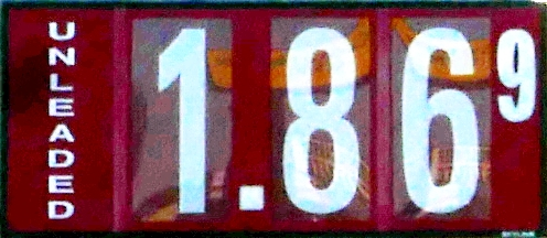 Steady Gas Prices...Slight Drop In 'Boro: $1.86