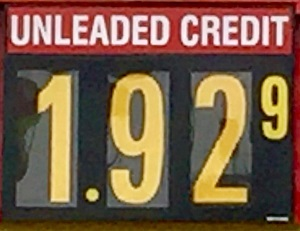 Level Gas Prices: $1.92 in 'Boro