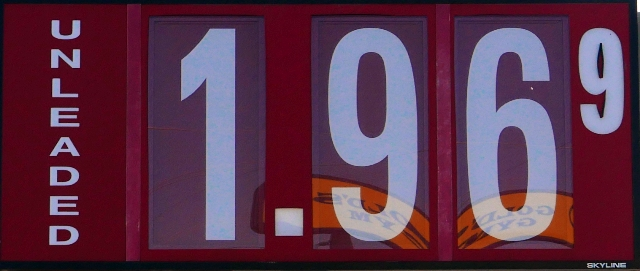 Gas Prices Drop:  $1.96 in 'Boro!
