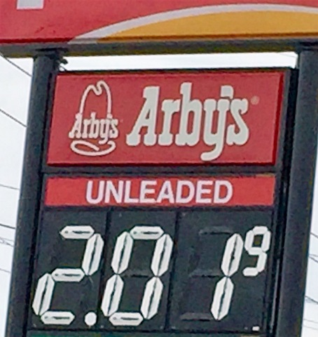 'Boro Gas Starts Week At $2.01