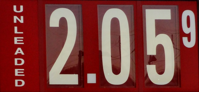Gas Opens Week At $2.05 In The 'Boro