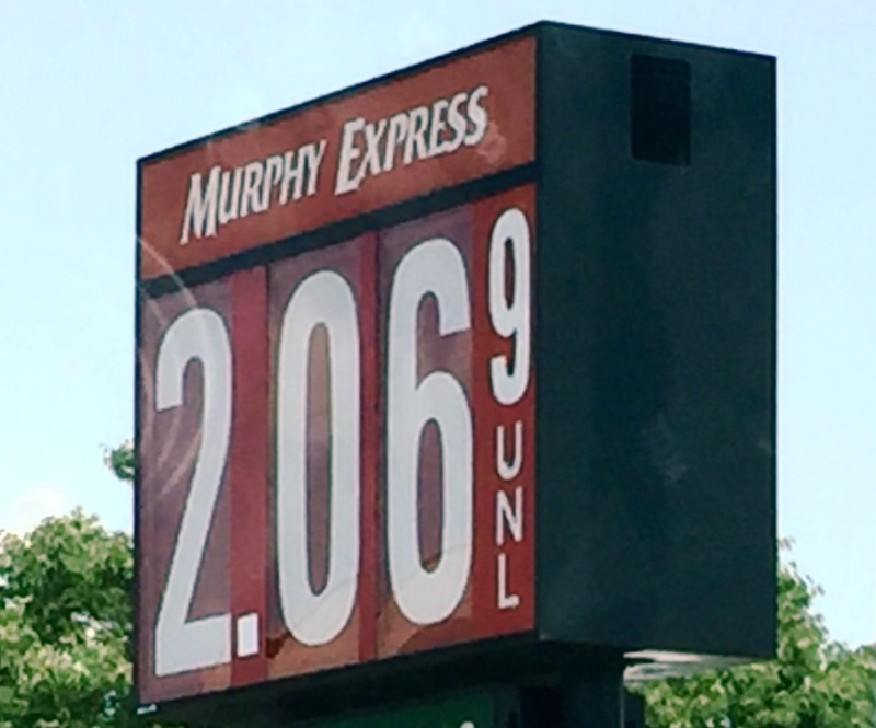 Gas Prices Drop Slightly...$2.06 Per Gallon