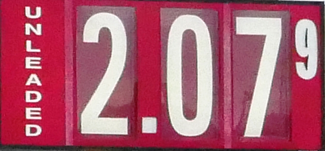 Gas Prices Inch UP Slightly!