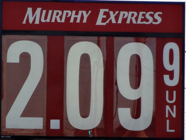Supply Back, Gas Stable At $2.09 In 'Boro