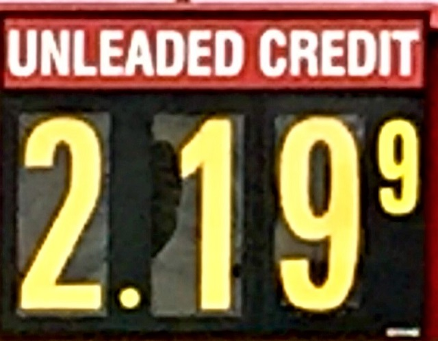 Gas in 'Boro JUMPS UP 14-Cents