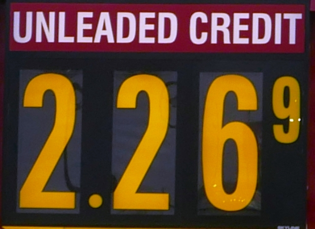 Gas Prices Slide Other Places, But Not 'Boro!