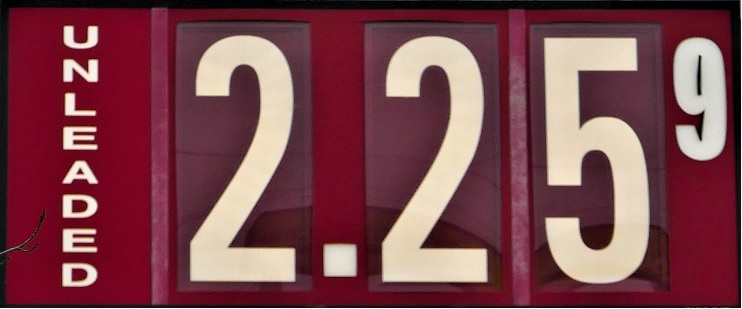 Gas Prices Higher Than 2014 | AAA, gas prices, Murfreesboro, $2.25, WGNS