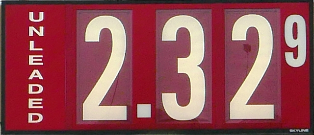 Gas Prices May Have Peaked: $2.32/gallon in 'Boro