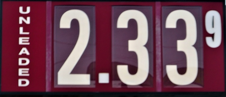 Gas Prices UP In Murfreesboro! | gas, Murfreesboro, AAA, $2.33, WGNS