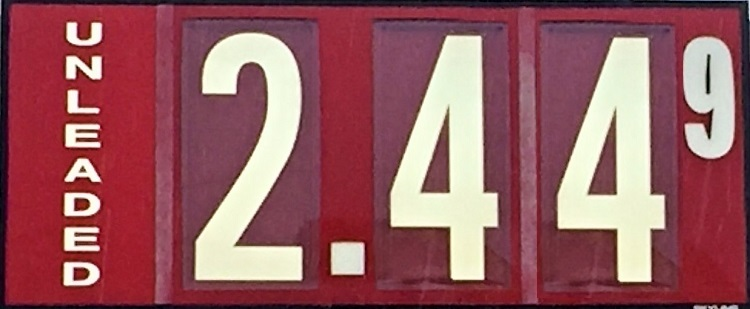 Still Lowest Gas Prices In Tennessee