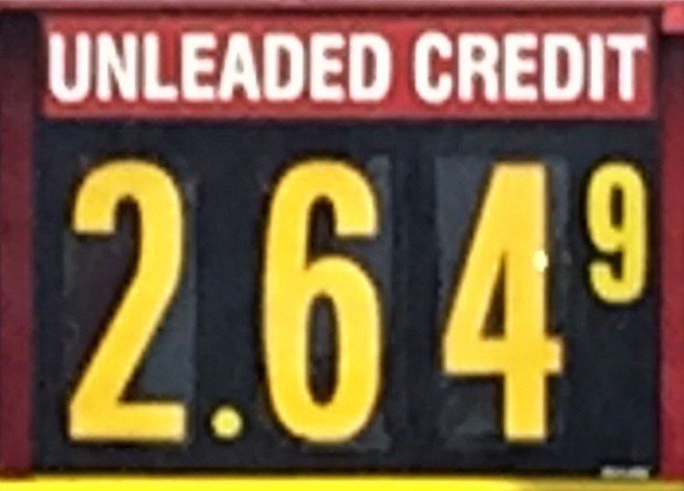 Some 'Boro Gas $2.64, AAA Says