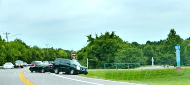 Lunchtime Crash At Entrance To Thompson Lane Trailhead