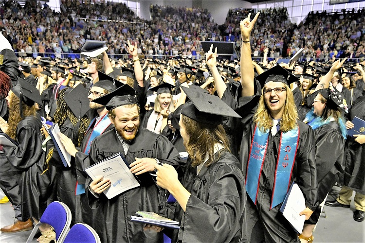 Congrats To 2,529 New True Blue Alumni!
