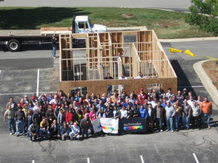 Habitat Building Home in 5-Hours!