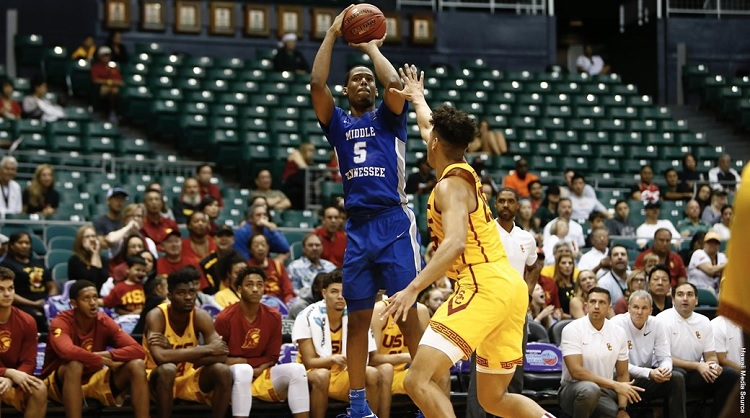 In Hawaii: USC men 89 - MTSU 84