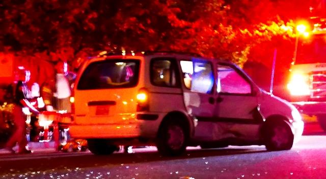 2 Car Crash With Serious Injuries