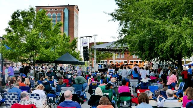 Perfect JazzFest on Historic Murfreesboro Square