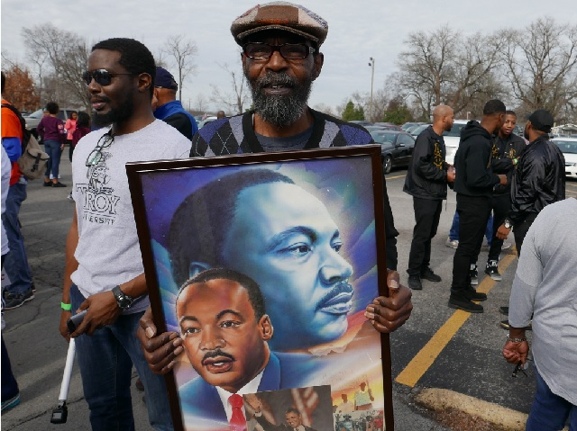 Record Crowd At Monday's NAACP March