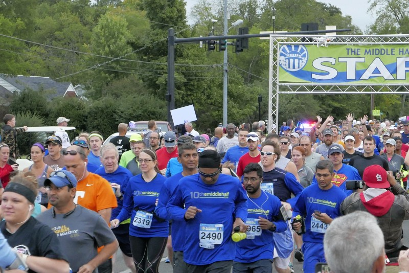 MILESTONE: 10th Annual Middle Half