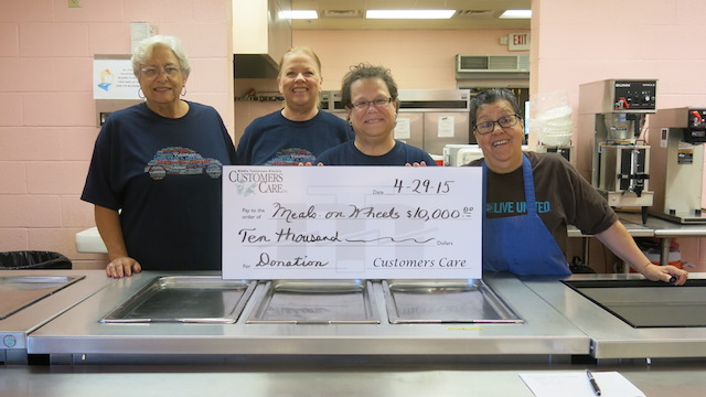 Meals on Wheels Receives $10K from MTEMC