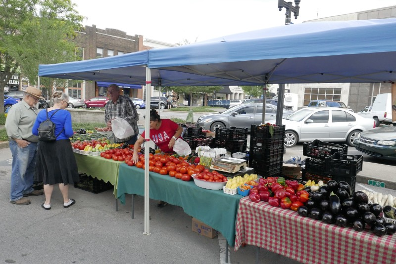 Saturday's MAIN STREET MARKET Huge Success