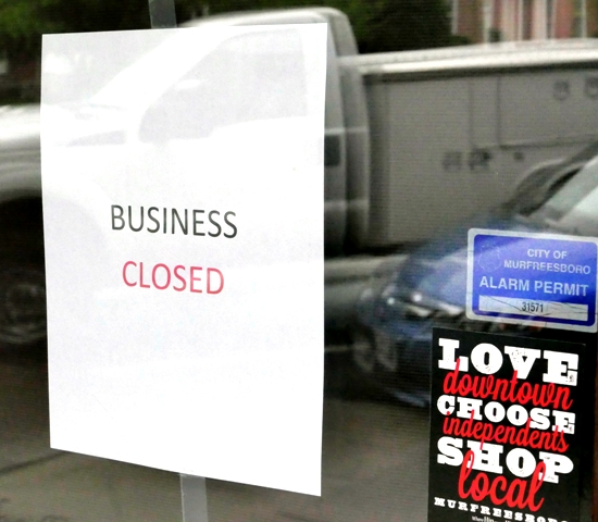 Maple Street Grill In Murfreesboro Closes; Eagleville OPEN!