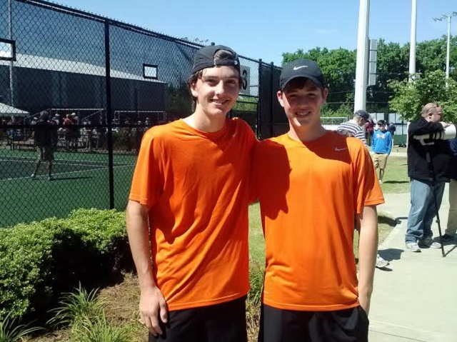 MTCS' Goodwyn, Reeves finishing runner-up in state tennis | MTCS, Spring Fling, tennis