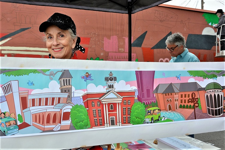 Norris Hall' Mural Now A Part Of Murfreesboro's Color!