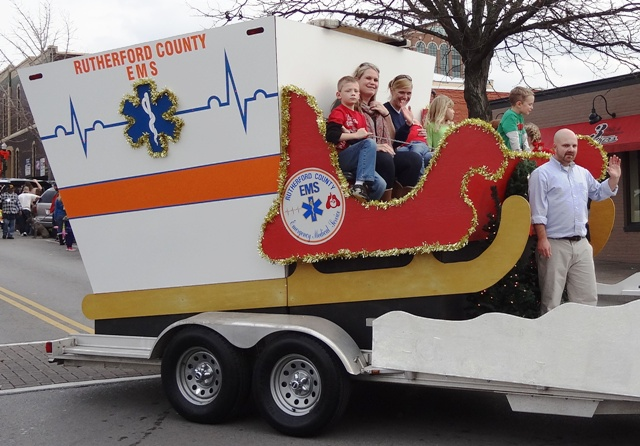 2012: Great Entries In the annual Christmas Parade in