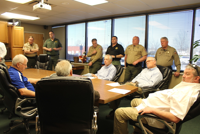 Sheriff Asks Committee for More Deputies