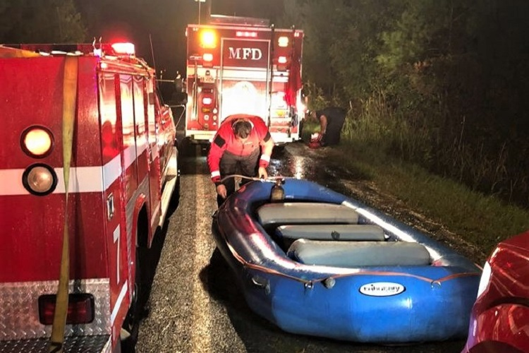 Local Swift Water Rescue Teams Facing Rising Water