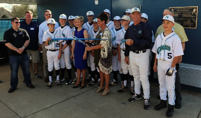 Siegel Middle School Dedicates New Field