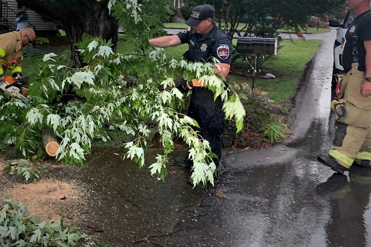 Storms Swept Across Rutherford County