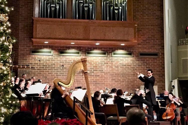 Murfreesboro Symphony's SRO Christmas Concert