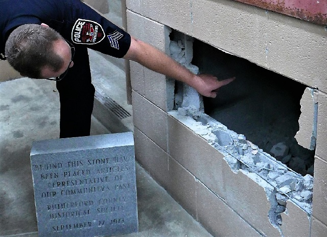 VIDEO: The opening of the 1973 Murfreesboro Police Time Capsule