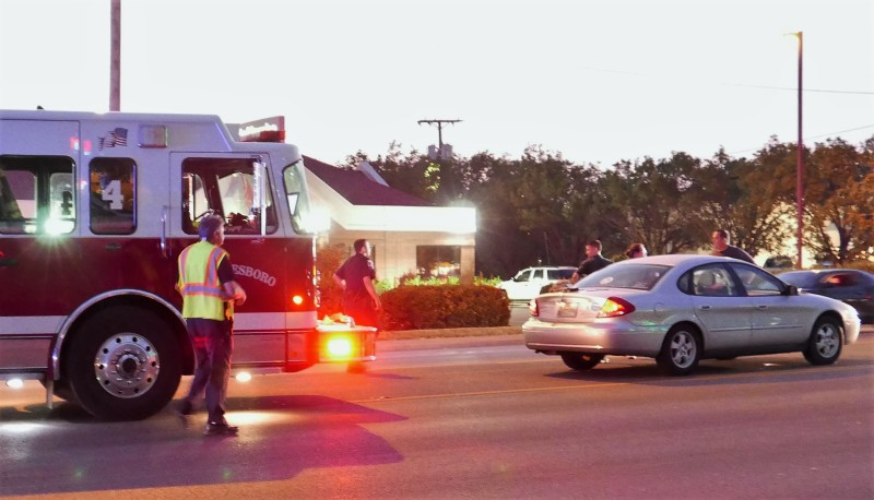 Tuesday Night Crash On Memorial Near Hasting's